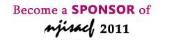 Become a sponsor of NJISACF 2010 - http://www.njisacf.org/2010/sponsor/